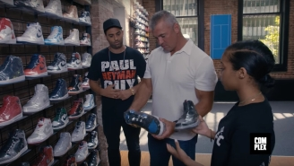 This Is What It's Like To Go Sneaker Shopping With Shane McMahon