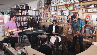 Anderson .Paak Played The Funkiest Tiny Desk Concert NPR Has Ever Seen