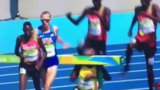 This Steeplechase Runner's Faceplant Might Be The Most Terrifying Moment Of The Olympics