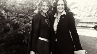Supergirl finally meets Wonder Woman