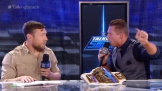 The Miz Cut The Promo Of His Life On 'Talking Smack' And The Internet Went Wild