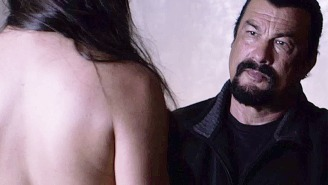 Steven Seagal lost a 'Batman' bet and this is his most recent trailer