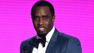 Sean 'Diddy' Combs Helps Kick Off The First Day At His New Harlem Charter School