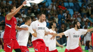 Serbia Stuns Australia To Advance To The Gold Medal Game In Rio Against Team USA