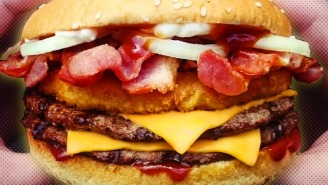 Burger King's New Offering Is An Unholy Trinity Of Meats