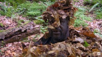 Bear Grylls Used Leaves And Impressive Improvisation Techniques To Make Shaquille O'Neal Disappear