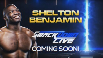 Shelton Benjamin's WWE Return Will Be Put On Hold Due To A Shoulder Injury