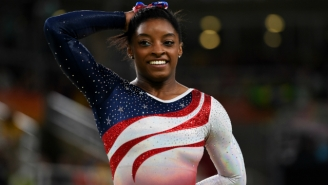 Simone Biles Had The Best Response For Anybody Dumb Enough To Say Her Adoptive Parents Aren't Her Parents