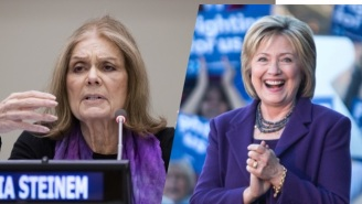 Gloria Steinem Takes Hillary Clinton's Critics To Task Over Their 'Extremism' On Her Gender