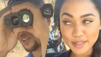 Steph Curry Is Out On The Golf Course Just 'Trying To Find The Booty'