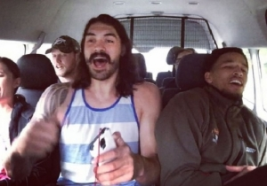 Fall In Love With Steven Adams Again After Seeing Him Sing A Backstreet Boys Song
