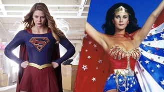 'Supergirl' Herself Offers Fans A First Look At President Lynda Carter