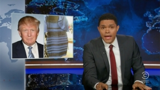 Trevor Noah Finds The Perfect Metaphor For Trump's 2nd Amendment Remarks