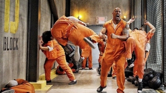 Dwayne Johnson Is The Baddest Man On Cell Block B In This New 'Fast 8' Photo