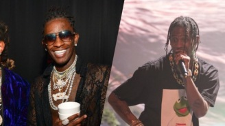 Young Thug Finally Added Travi$ Scott To His Posse Cut, 'Floyd Mayweather'