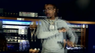 Watch T.I., Quavo And Brandon Marshall Hit The Studio In The 'Baller Alert' Video