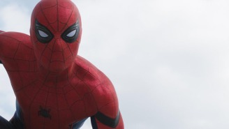 Holy crap! Tom Holland is literally Spider-Man