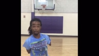 Tre Nubb Is A Baller With No Hands And One Leg Who Still Gets Buckets