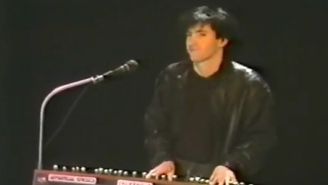 Footage Of Trent Reznor's Stint In The '80s Band Slam Bamboo Has Resurfaced And It's Wonderful