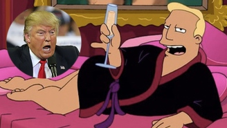 Billy West Records Donald Trump's Ramblings As Zapp From 'Futurama'