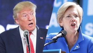 Elizabeth Warren Knows Exactly Why Donald Trump Is 'Making Death Threats'
