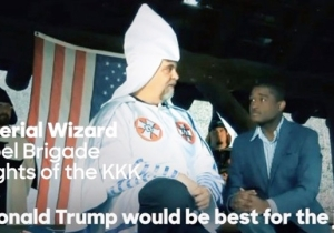 Hillary Clinton Isn't Subtle With The KKK Imagery In Her New Anti-Trump Ad