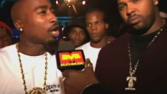 Tupac Spent One Of His Only VMA Appearances Hyping The Future Of Death Row East