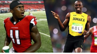 Julio Jones Doesn't Think Usain Bolt Could Make It In The NFL, And He's Right On Every Level