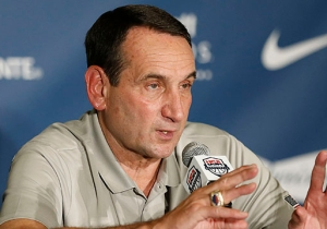 Coach K Got Pretty Saucy When A Reporter Asked About Living On A Cruise Ship