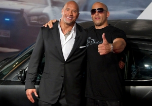 'Fast 8' Crew Members Reportedly Reveal Why The Rock Is So Mad At 'Candy Ass' Vin Diesel