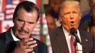 Former Mexican President Vicente Fox Rages Against Donald Trump's Visit: 'He Is Not Welcome'