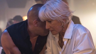 Vin Diesel Offers A Brief Tease Of Helen Mirren In This 'Fast 8' Photo