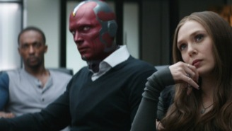 The First Featurette From The 'Captain America: Civil War' Blu-Ray Focuses On Vision And Scarlet Witch