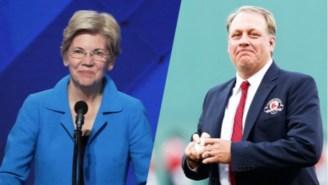 Curt Schilling Hints At Running For Elizabeth Warren's Senate Seat