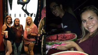 These Teens Pretended To Be Pregnant Using Watermelons To Sneak Snacks Into A Movie Theater