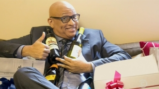 Samantha Bee Sent Larry Wilmore A Tasty, Alcoholic Going Away Gift On 'The Nightly Show'