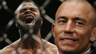 Georges St-Pierre Is Willing To Fight Tyron Woodley For His Long-Rumored UFC Comeback
