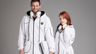Microsoft Debuts The Xbox Onesie To Satisfy All Your Lounging Needs