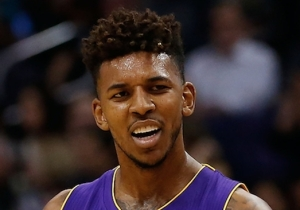 Nick Young Wonders When He'll Get To Make A Commercial Mocking D'Angelo Russell's Secret Snapchat