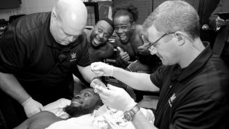 Kofi Kingston Needed Nine Stitches After Being Busted Open On WWE Raw