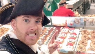 Everyone Is Going Nuts Over Krispy Kreme's 'Talk Like A Pirate Day' Promotion