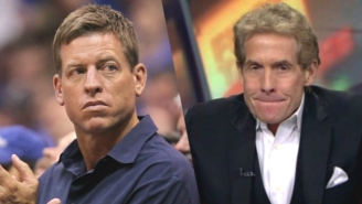 Troy Aikman Unloaded On Skip Bayless, And Is Not Happy That Fox Sports Hired Him