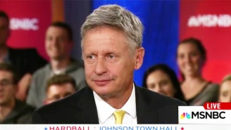 Gary Johnson Fumbles Into Another Cringeworthy Gaffe, But This Time, It's Even Worse