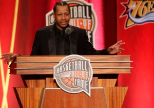 Allen Iverson Thanked Biggie Smalls, Redman, And Tupac In His Hall Of Fame Speech