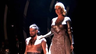 Amber Rose Transforms Into The Mother Of Dragons On 'Dancing With The Stars'