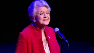 Angela Lansbury sings 'Beauty and the Beast's' title song to celebrate 25th anniversary