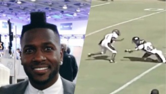 Antonio Brown Shows Us His Best Michael Vick Impersonation In These Crazy High School Highlights