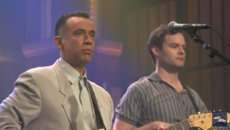 Fred Armisen And Bill Hader Bring Their Talking Heads Parody Band To 'Late Night'