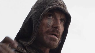 Who thought face tattoos were a good look for a secret society in 'Assassin's Creed'?