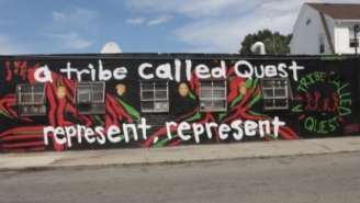 The Mural Dedicated To A Tribe Called Quest Proves To Be A Touching Memorial To The Late Phife Dawg